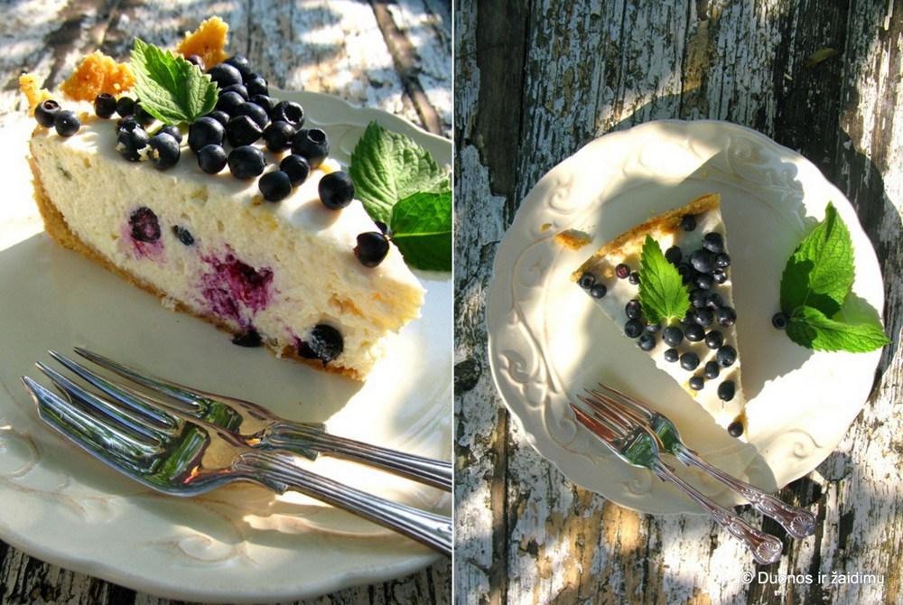 Varskes pyragas su melynemis