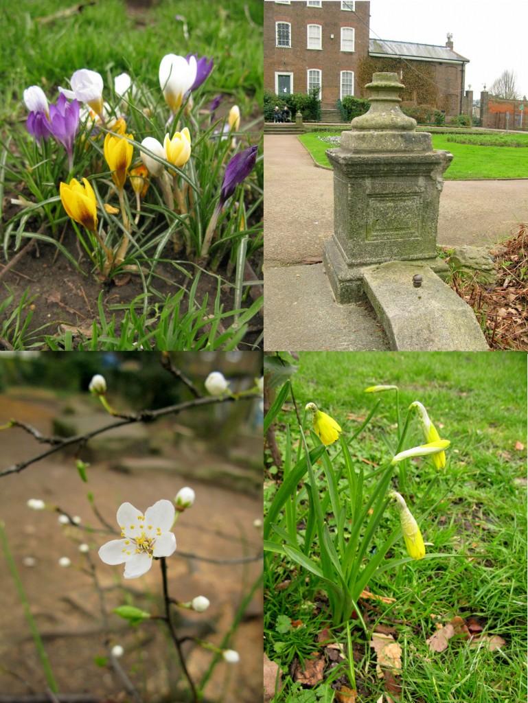 londonas pavasari
