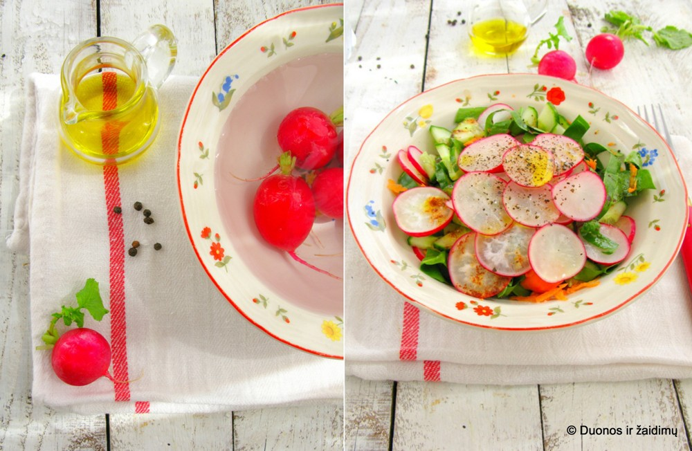 ridikeliu salotos
