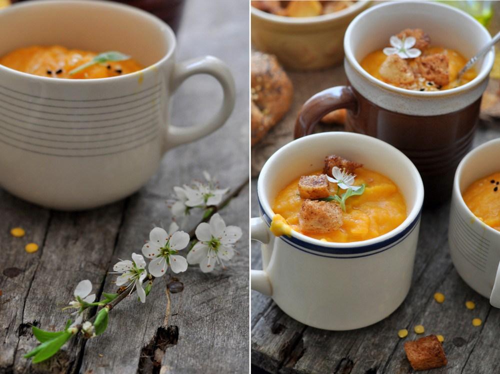 Morku, lesiu, apelsinu sriuba