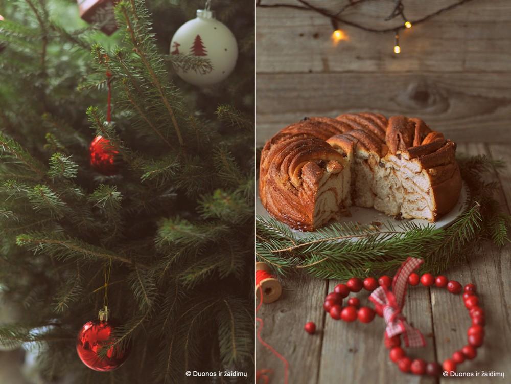 Cinamoninis vainikas. Cinnamon wreath